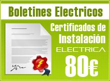 Boletines electricos Pca Electricidad