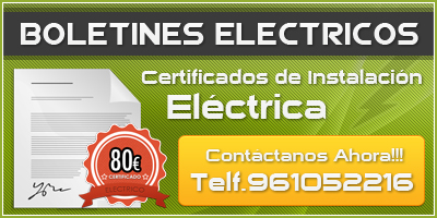 boletines eléctricos en valencia