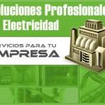 Soluciones profesionales. Electricistas 24horas